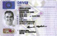 Drivers Digital Tachograph Card